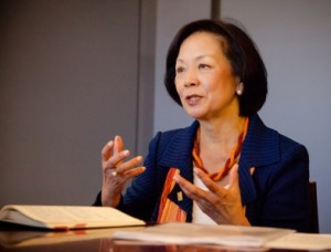 Dr. Rosalind Chou, assistant professor of sociology at Georgia State University, says that sexism and common misconceptions about racism lead to some of the hurdles faced by women in leadership roles in higher education.