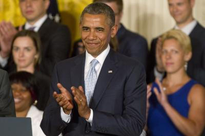 """President Obama said that """"no hardworking young person should be priced out of a higher education."""""""
