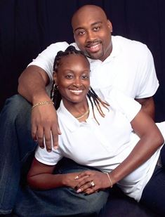 Veteran Cheloyn Keeton-Todd, with husband Johnny, is in an accelerated nursing program at Rasmussen College in Florida. (Photo courtesy of Cheloyn Keeton-Todd)