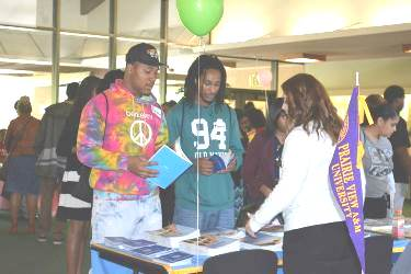 The 25th Annual Black College Awareness Fair was held at Stanford University last week. (Photo courtesy of the Rho Delta Omega Chapter of AKA from Palo Alto, Calif.)