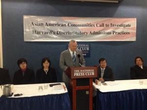 From left to right, Mr. Michael Wang, Dr.Chunyan Li, Congressman Dana Rohrabacher and Mr. Yukong Zhang, Dr. Ajay Kothari