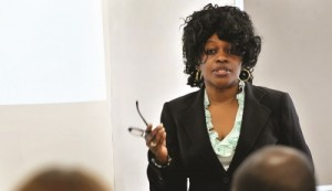 Afua O. Arhin says the fact that Fayetteville State's nursing program was inactive made it easier to bring it back to life. (Photo courtesy of Fayetteville State University)